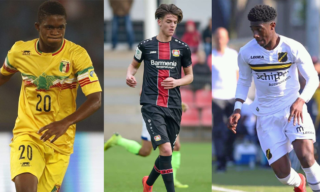 Four players born in new millennium to make 2019 AFCON debut