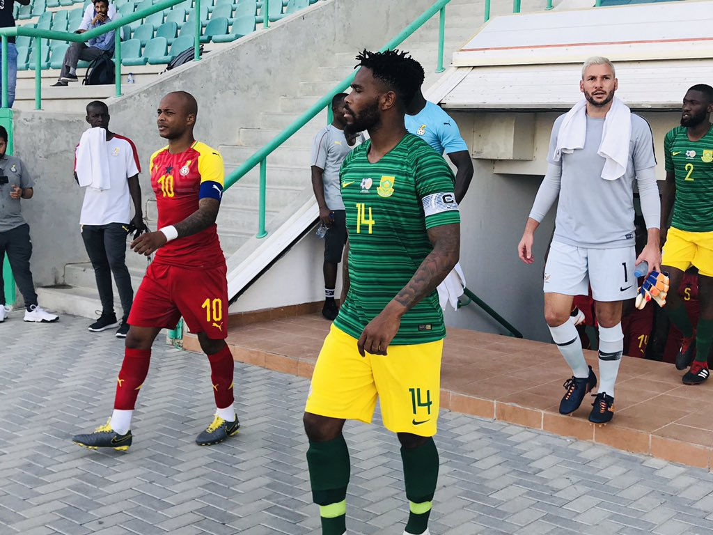 2019 Africa Cup of Nations: Ghana remain winless in friendlies after being held by South Africa