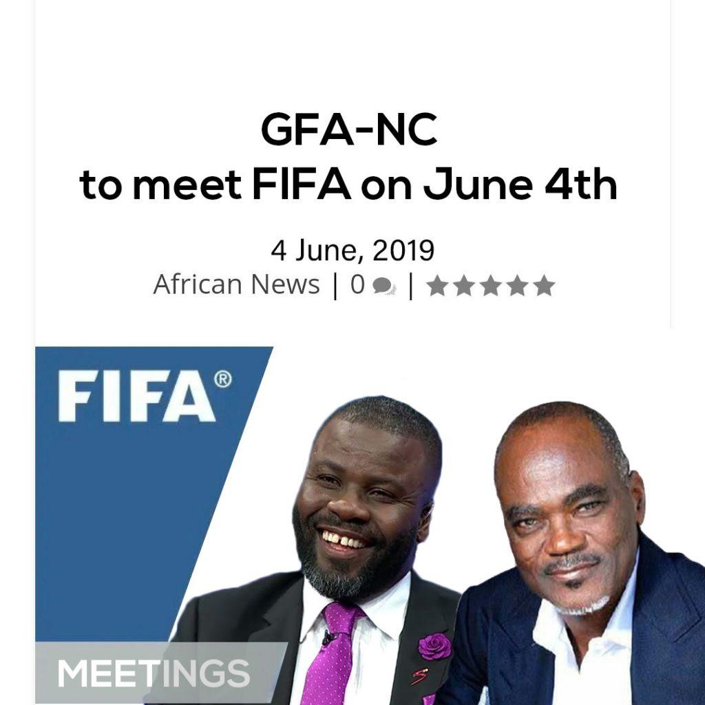 Latest Ghana News: FIFA To Hold Crucial Talks With Ghana FA Normalisation