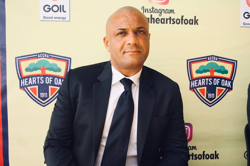 Special Competition: Hearts coach Kim Grant keen on qualifying for Africa ahead of Kotoko