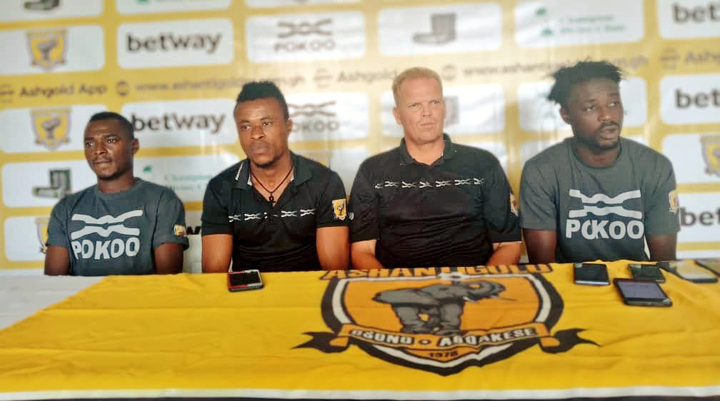 Special Competition: Ashantigold coach Kjetil Zachariassen expects tough semifinal clash against Karela