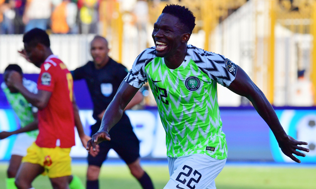 VIDEO: Nigeria 1-0 Guinea- 2019 Africa Cup of Nations highlights