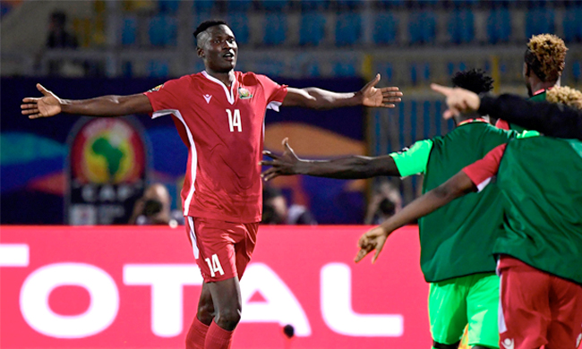 VIDEO: Kenya 3-2 Tanzania- 2019 Africa Cup of Nations highlights