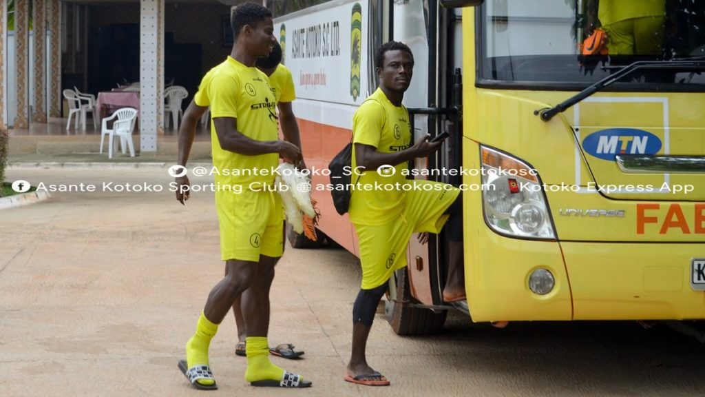 Special Competition: Asante Kotoko arrive in Mampong for training camp ahead of Hearts clash