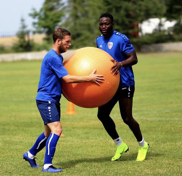 Ghanaian midfielder Muniru Sulley begins preseason with Russian side FC Tambov