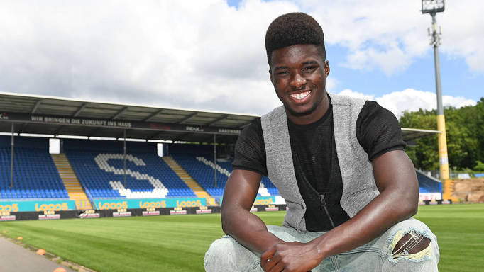 I joined SV Darmstadt to develop as a young player - Ghanaian forward Braydon Manu