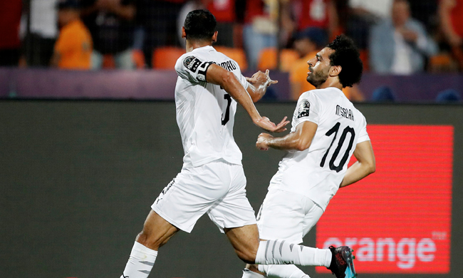 Match Report: Egypt top Group A with 100% record after 2-0 Uganda win