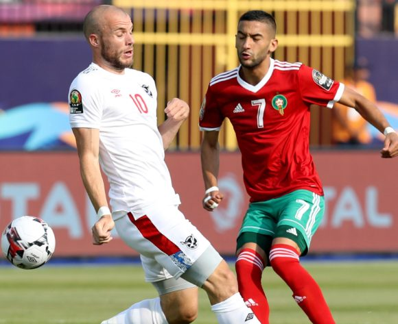 2019 Africa Cup of Nations: Keimuine's own-goal helps Morocco edge Namibia in Group D