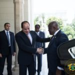 VIDEO: Ghana president Akufo-Addo arrives at Ismailia stadium to watch Ghana-Benin AFCON clash