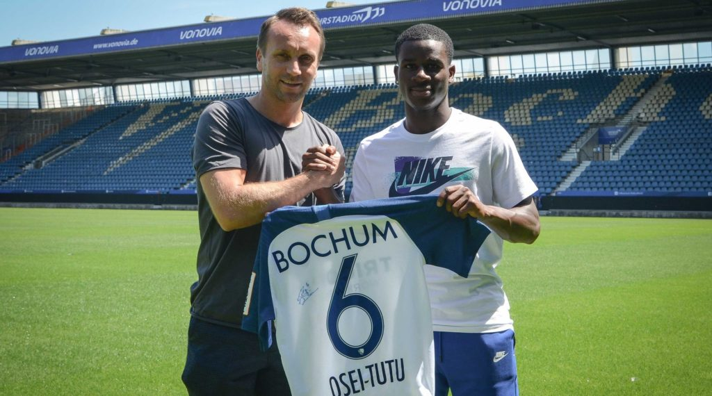 Ghanaian Youngster Jordi Osei Tutu Joins German Club Vfl Bochum On Loan Ghana Latest Football News Live Scores Results Ghanasoccernet
