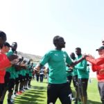 VIDEO: Liverpool star Sadio Mane receives heroes welcome after joining Senegal camp