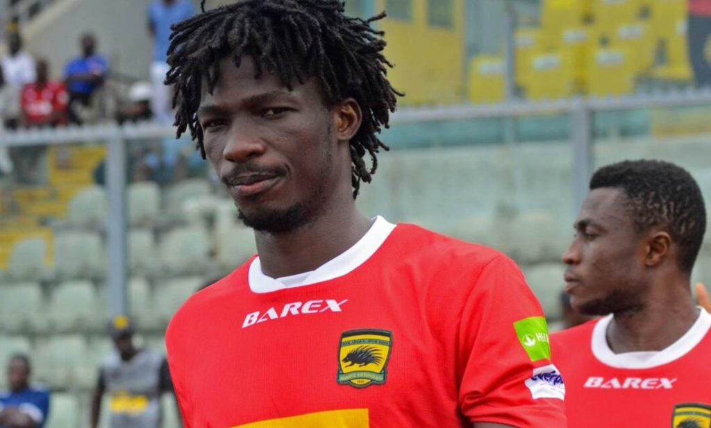 Striker Sogne Yacouba named on the bench as Asante Kotoko battle Hearts of Oak in President's Cup
