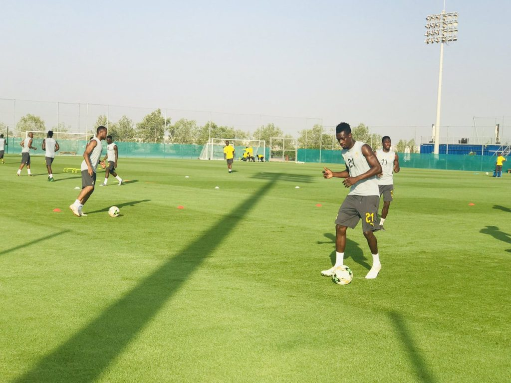 VIDEO: Black Stars in final training ahead of Saturday's warm up match against South Africa