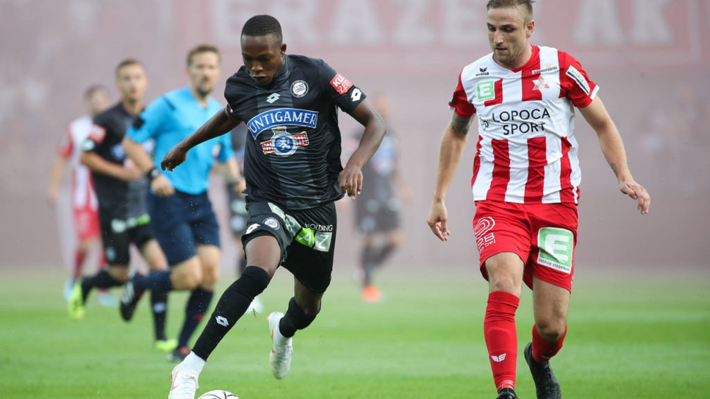 Ghanaian midfielder Winfred Amoah on target in Sturm Graz in pre-season win over  ESV Mürzzuschlag