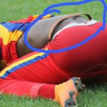 EXPOSED: Hearts of Oak striker Aboubacar Traore spotted wearing 'juju' amulet during Tier I Cup semis defeat to Kotoko