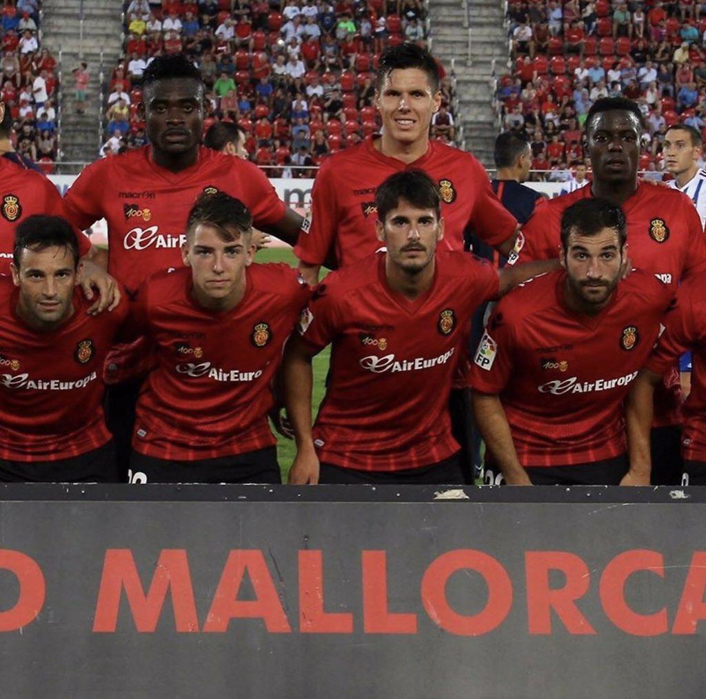 Ghana's Kasim Nuhu offers support to former club Real Mallorca ahead of La Liga playoff against Deportivo La Coruna