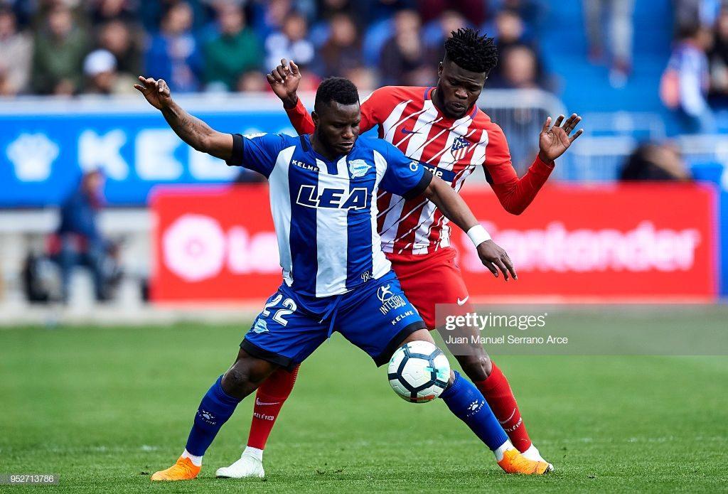 Ghanaian duo Wakaso, Partey among La Liga players at 2019 AFCON