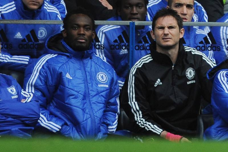 Michael Essien happy with Frank Lampard's appointment as Chelsea coach