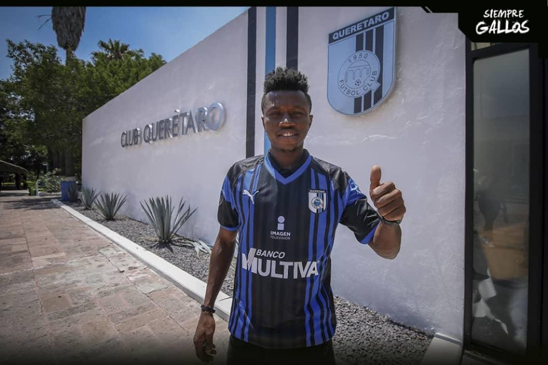 Clifford Aboagye swaps Atlas FC for Queretaro FC
