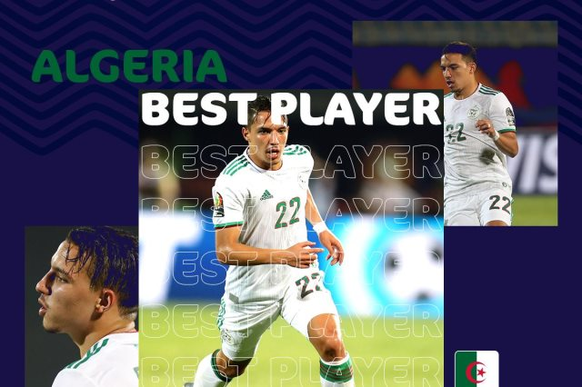 2019 Africa Cup of Nations: Algeria's Ben Nasser named best player after group stage