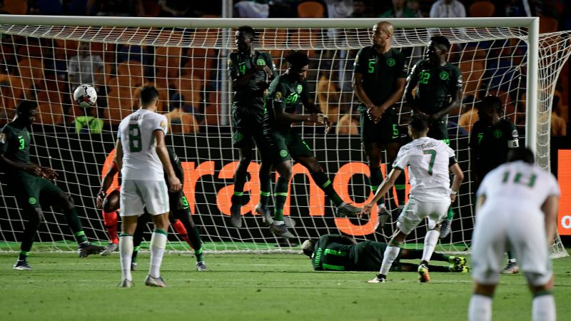 Match Report: Algeria 2-1 Nigeria - Mahrez sends Desert Foxes into final with stunning stoppage time free-kick