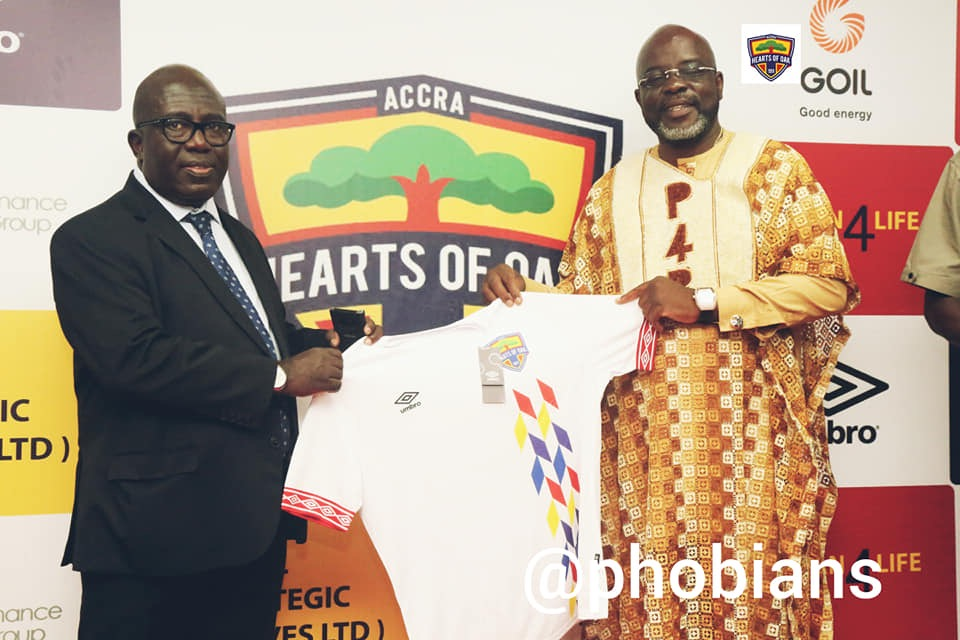 Wilfred Osei Palmer buys Ghc 20,000 worth of  Hearts of Oak Umbro jerseys for fans