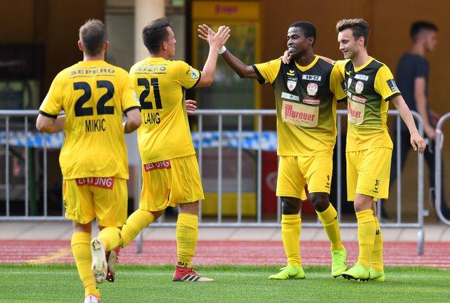 Paul Mensah on target as Kapfenberger SV defeat Schwaz in ÖFB Cup