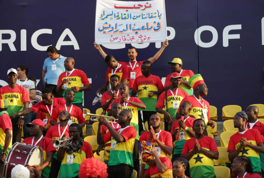 Ghanaian Citizens in Suez to give Black Stars massive support on Tuesday against Guinea Bissau