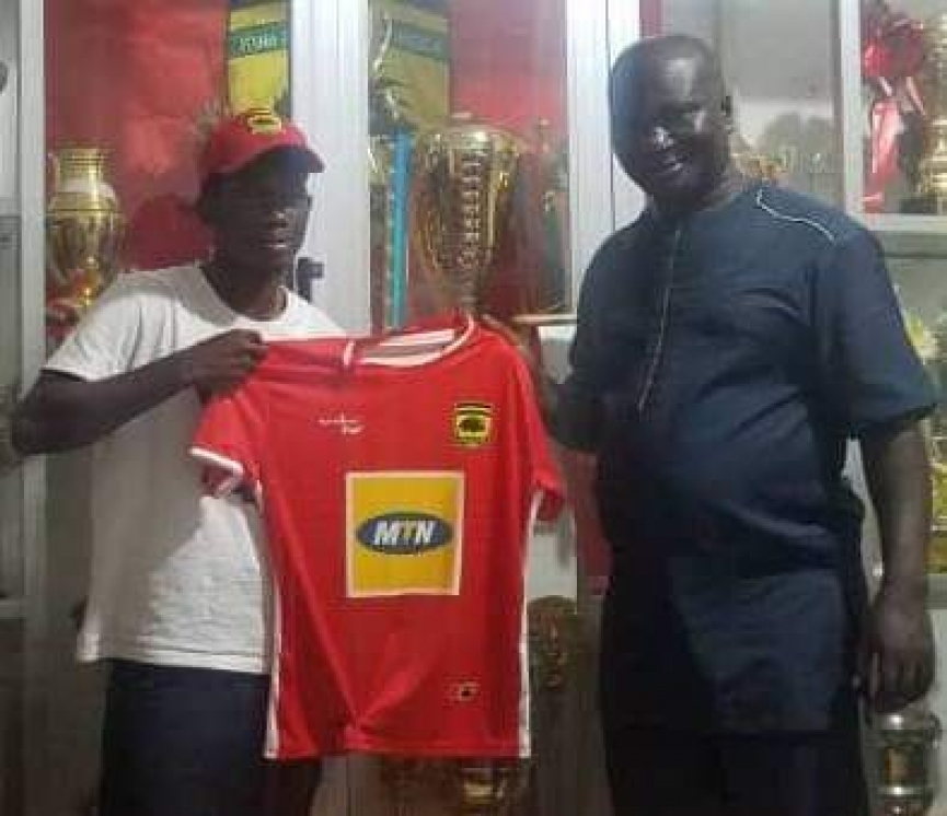 Asante Kotoko capture Ampem Dacosta from Karela United