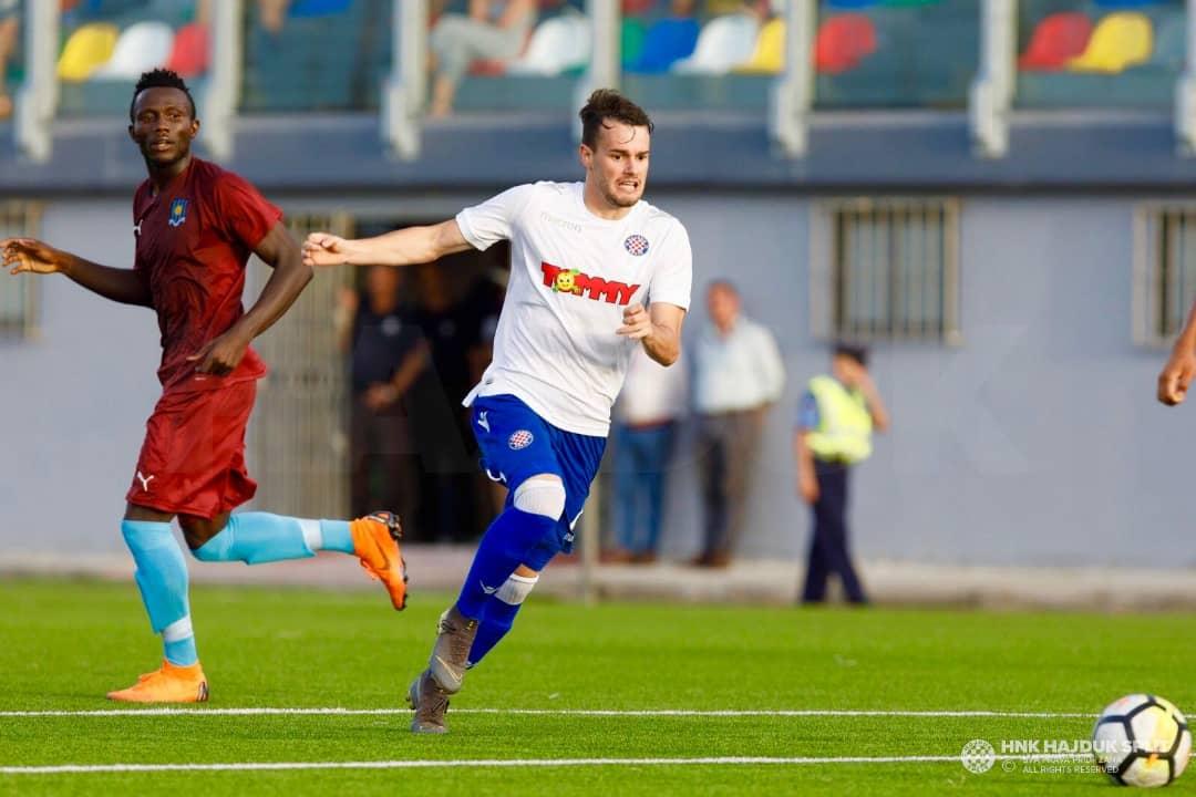 Europa League: Elvis Sakyi marks full debut as Gzira United oust Hadjuk Split
