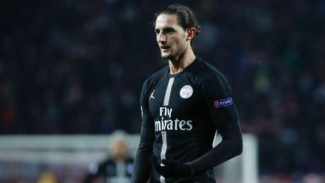 PSG's Rabiot completes Juventus move