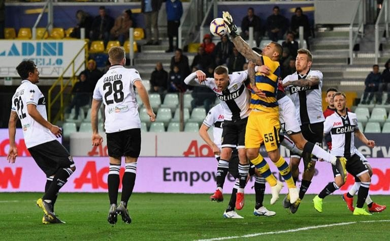 ALBERTO GRASSI AND LUIGI SEPE ARE PARMA PLAYERS