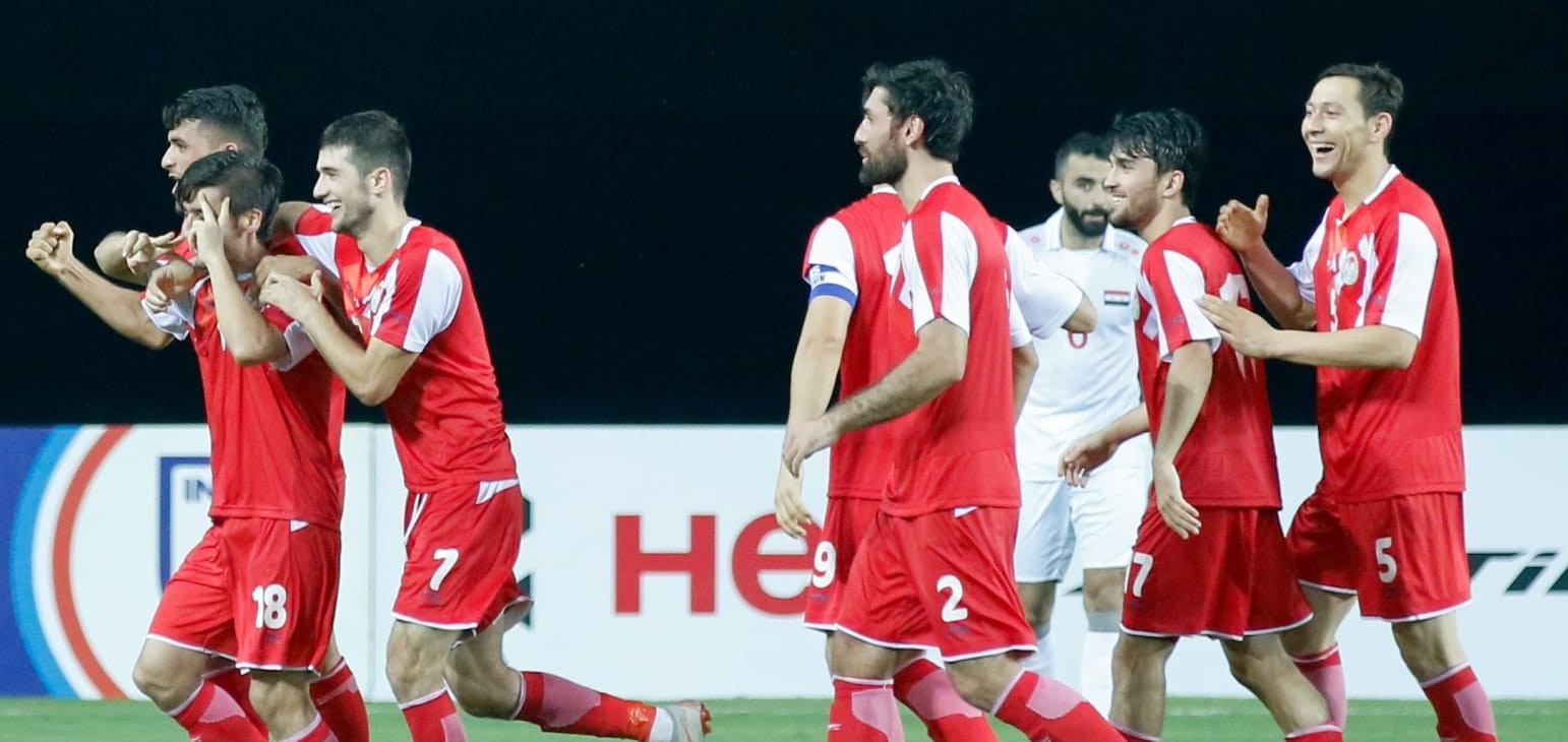Tajikistan produce another second half show to beat Syria