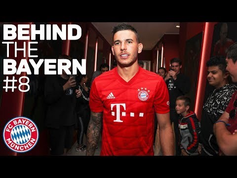 Lucas Hernández - First Day at FC Bayern | Behind The Bayern #8