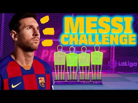 MESSI CHALLENGE. Can you beat the GOAT?