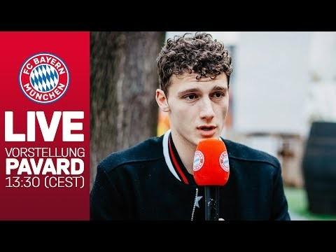 LIVE 🔴 | Vorstellung von Benjamin Pavard | FC Bayern Pressekonferenz