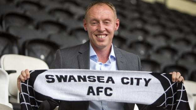 Steve Cooper: New boss targets a promotion push with Swansea City