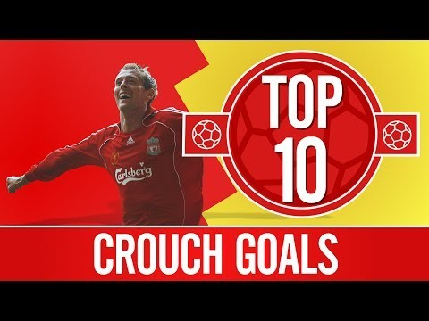 Top 10: Peter Crouch Goals | Scissor kicks, top bins and towering headers