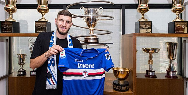 "SAMPDORIA, CHABOT: ""MUSTAFI SET A GOOD EXAMPLE BUT I WANT TO WRITE MY OWN STORY"""
