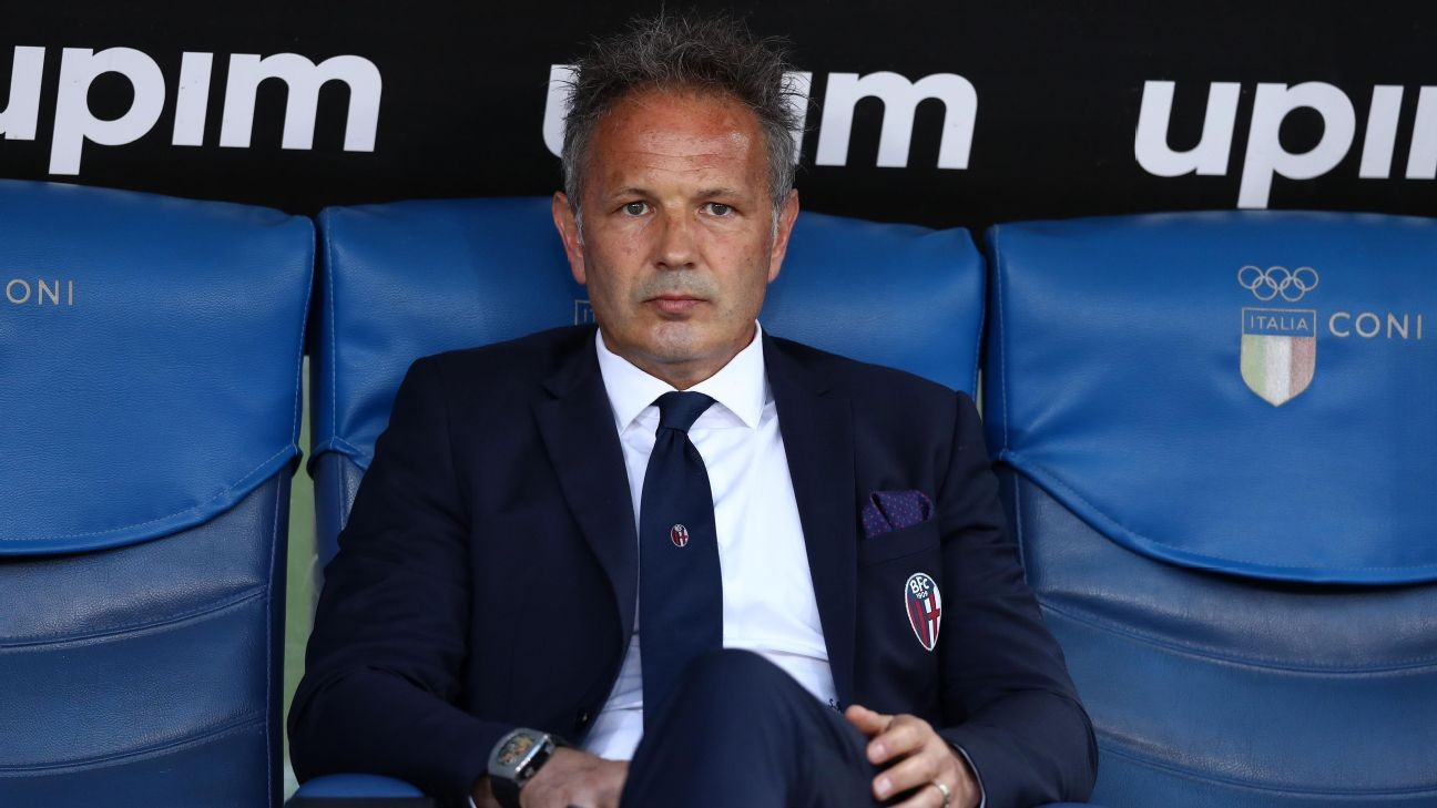 Bologna coach Mihajlovic announces he has leukemia