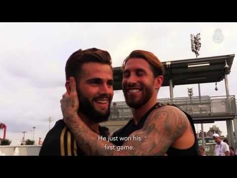 Sergio Ramos, Real Madrid TV's new reporter!