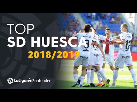 TOP Goles SD Huesca LaLiga Santander 2018/2019