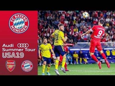 Arsenal FC vs. FC Bayern 2-1 | Full Game - International Champions Cup 2019