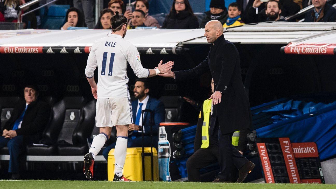 Zidane 'a disgrace' for Bale comments - agent