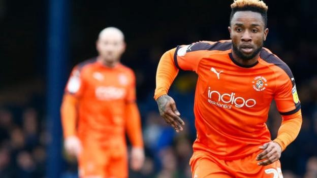 Kazenga LuaLua: Luton Town re-sign winger