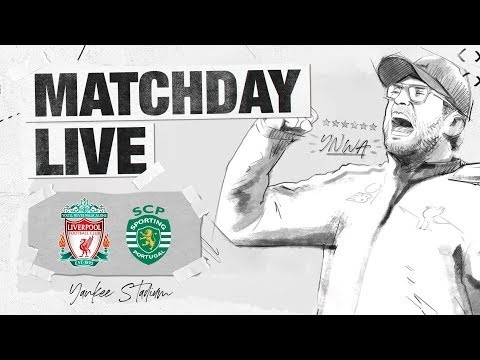 Matchday Live: Liverpool v Sporting Lisbon | Exclusive build-up to the Reds' clash against Sporting