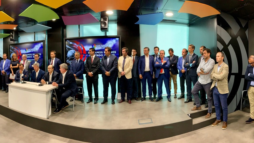 All LaLiga Santander and LaLiga SmartBank clubs, except Real Madrid, express their concern over what they view as a violation of LaLiga's powers by RFEF