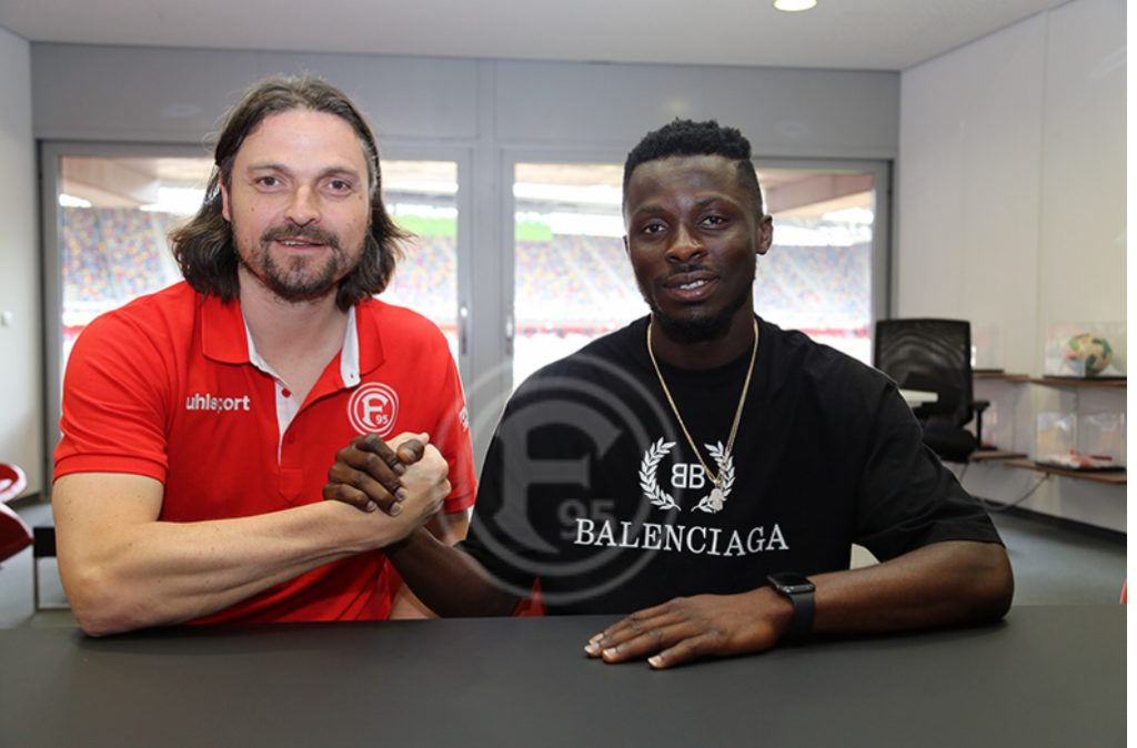 OFFICIAL: Nana Ampomah completes Fortuna Düsseldorf move