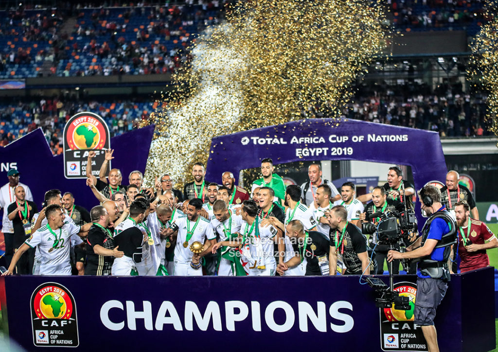 2019 Africa Cup of Nations: PHOTOS - Colourful pictures as Algeria celebrate second AFCON title