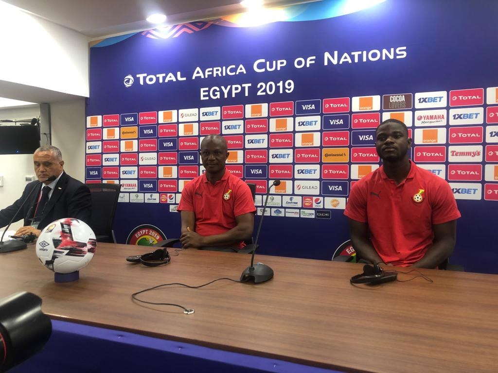 2019 Africa Cup of Nations: Sports Minister's presence in camp is enough motivation for my players- Kwesi Appiah